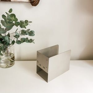 Metal file/book holder